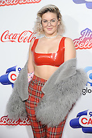 LONDON, UK. December 3, 2016: Anne-Marie at the Jingle Bell Ball 2016 at the O2 Arena, Greenwich, London.<br /> Picture: Steve Vas/Featureflash/SilverHub 0208 004 5359/ 07711 972644 Editors@silverhubmedia.com