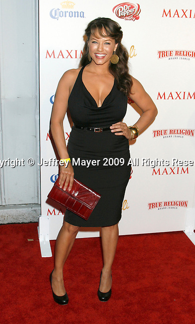 SANTA MONICA, CA. - May 13: Leila Arcieri arrives at the Maxim's 10th Annual Hot 100 Celebration at The Barker Hangar on May 13, 2009 in Santa Monica, California.
