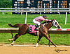 Burning Charm winning at Delaware Park on 6/2/16
