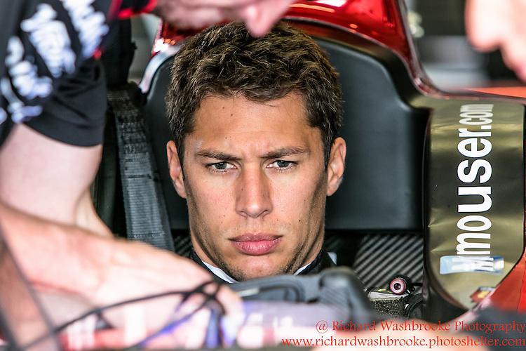 6 Loic Duval (FRA)  Dragon Racing  Formula E - Donington Test 24th August 2015<br /> <br /> Photo:  - Richard Washbrooke Photography