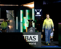 9th November 2019; RAC Arena, Perth, Western Australia, Australia; Fed Cup by BNP Paribas Tennis Final, Day 1, Australia versus France; Sam Stosur of Australia enters the arena