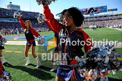 "19 October 2008:  Buffalo Bills' cheerleaders the ""Jills"" entertain the crowd during a game against the San Diego Chargers at Ralph Wilson Stadium in Orchard Park, NY. The Bills defeated the Chargers 23-14 and maintain their first place position in the AFC East with a 5 and 1 record...Mandatory Photo Credit: Ed Wolfstein Photo"