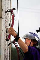 """""""Ice Climbing"""" station is one of the spontaneous activities."""