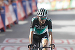 Emanuel Buchmann (GER) Bora-Hansgroh crosses the finish line in 9th place at the end of Stage 4 of the La Vuelta 2018, running 162km from Velez-Malaga to Alfacar, Sierra de la Alfaguara, Andalucia, Spain. 28th August 2018.<br /> Picture: Colin Flockton   Cyclefile<br /> <br /> <br /> All photos usage must carry mandatory copyright credit (&copy; Cyclefile   Colin Flockton)