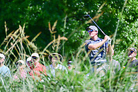 Ryan Blaum (USA) watches his tee shot on 10 during round 2 of the Shell Houston Open, Golf Club of Houston, Houston, Texas, USA. 3/31/2017.<br /> Picture: Golffile | Ken Murray<br /> <br /> <br /> All photo usage must carry mandatory copyright credit (&copy; Golffile | Ken Murray)