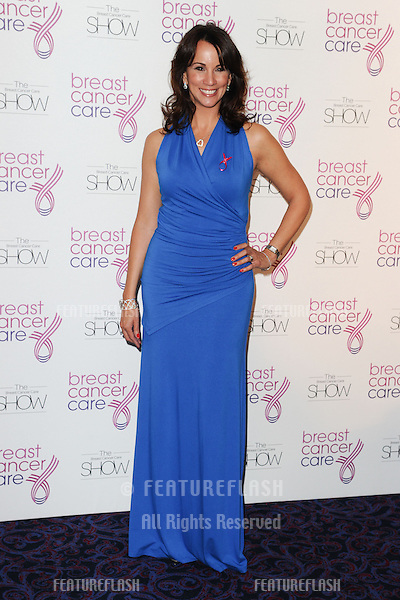 Andrea McLean arriving for the Breast Cancer Care Fashion Show, Grosvenor House Hotel, London. 02/10/2012 Picture by: Steve Vas / Featureflash