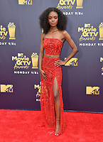 Ashleigh Murray at the 2018 MTV Movie &amp; TV Awards at the Barker Hanger, Santa Monica, USA 16 June 2018<br /> Picture: Paul Smith/Featureflash/SilverHub 0208 004 5359 sales@silverhubmedia.com