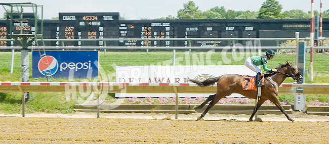 On The Go winning at Delaware Park on 6/25/12
