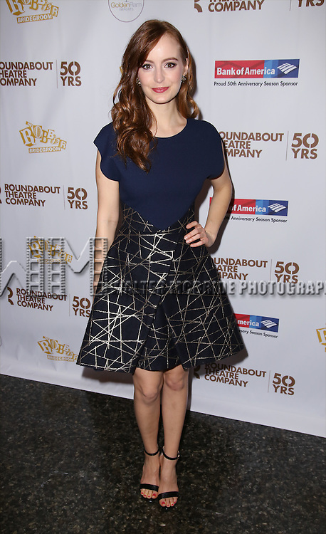 Ahna O'Reilly attends 'The Robber Bridegroom' Off-Broadway Opening Night performance press reception at Laura Pels Theatre on March 13, 2016 in New York City.
