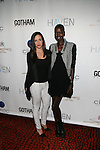 EK Events' Elizabeth Kennedy and Model Nykhor Paul (new face of Louis Vuitton) Attend Seth Meyers at Gotham magazine's 'The Men's Issue' release party at The Sanctuary Hotel powered by CÎROC Vodka, NY
