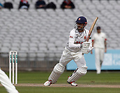 8th September 2017, Emirates Old Trafford, Manchester, England; Specsavers County Championship, Division One; Lancashire versus Essex; Essex keeper James Foster at the crease during the afternoon session