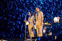 Japan participants promoting the next jamboree. Photo: Mikko Roininen / Scouterna
