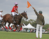 WELLINGTON, FL - MARCH 05: 10 goaler, Facundo Pieres of Orchard Hill scores, as Valiente defeats Orchard Hill 14-11, in the 26 goal CV Whitney Cup Final, at the International Polo Club, Palm Beach on February 26, 2017 in Wellington, Florida. (Photo by Liz Lamont/Eclipse Sportswire/Getty Images)