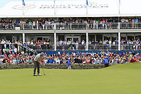 Andy Sullivan (ENG) putts on the 18th green during Sunday's Final Round of the Dubai Duty Free Irish Open 2019, held at Lahinch Golf Club, Lahinch, Ireland. 7th July 2019.<br /> Picture: Eoin Clarke | Golffile<br /> <br /> <br /> All photos usage must carry mandatory copyright credit (© Golffile | Eoin Clarke)