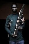 Patrick Kikundiro. Ex enfant soldat. Bukavu, RDC, juillet 2013.