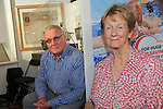 Aiden and Maureen Rodgers<br /> at the old Drogheda society lunchtime talks in the Tholsel<br /> Picture:  www.newsfile.ie