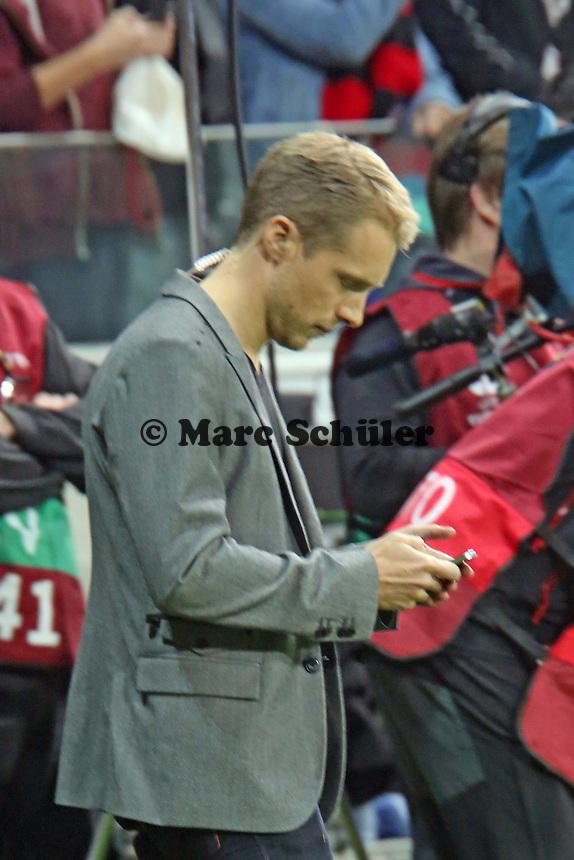 Moderator Oliver Pocher schon wieder bei Twitter? - Eintracht Frankfurt vs. Macabi Tel Aviv, Europa League 3. Spieltag