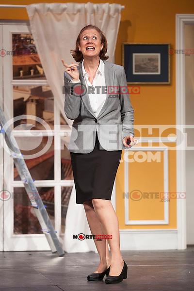 Actress Esperanza Elipein performs `El Clan de las Divorciadas´ theater play in Madrid, Spain. August 19, 2015. (ALTERPHOTOS/Victor Blanco)