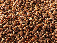 Roasted Buckwheat Stock Photos