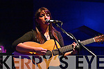 Killarney singer Helena Connolly performing at her gig in the INEC acoustic club to launch her new CD 'The Reason Why' on Friday night....