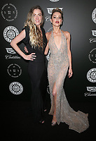 06 January 2018 - Santa Monica, California - Whitney Heard, Amber Heard. The Art Of Elysium's 11th Annual Black Tie Artistic Experience HEAVEN Gala held at Barker Hangar. <br /> CAP/ADM/FS<br /> &copy;FS/ADM/Capital Pictures