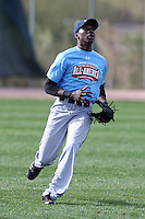 January 17, 2010:  Jervis Stuart Jr (Adren, NC) of the Baseball Factory Coastal Team during the 2010 Under Armour Pre-Season All-America Tournament at Kino Sports Complex in Tucson, AZ.  Photo By Mike Janes/Four Seam Images