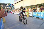 Peter Sagan (SVK) Bora-Hansgrohe during Stage 1 of the La Vuelta 2018, an individual time trial of 8km running around Malaga city centre, Spain. 25th August 2018.<br /> Picture: Ann Clarke | Cyclefile<br /> <br /> <br /> All photos usage must carry mandatory copyright credit (© Cyclefile | Ann Clarke)