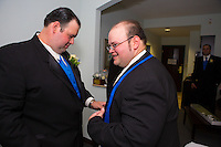 7/28/12 1:20:18 PM - Warminster, PA. -- Andrea & Dan - July 28, 2012 in Warminster, Pennsylvania. -- (Photo by Joe Koren/Cain Images)