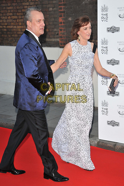LONDON, ENGLAND - APRIL 19: Stephen Tompkinson, Haydn Gwynne attend the Gala Celebration in Honour of Kevin Spacey, The Old Vic theatre, The Cut, on Sunday April 19, 2015 in London, England, UK. <br /> CAP/CAN<br /> &copy;Can Nguyen/Capital Pictures