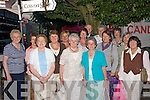Ladies Night out: Clounmacken ICA members Mary Keogh,Josephine Fitzgerald, May Rellihan, Mary O' Connor, Mary Hodges,r-l  Maura Carmody, Philis Keane, Mary Buckley, Mary  Buckley, Nora Broderick, Kitty Curtin, Noreen Printer, Elaine Galvin and Nancy McAuliffe  at Athea roadrace festival on Friday evening.