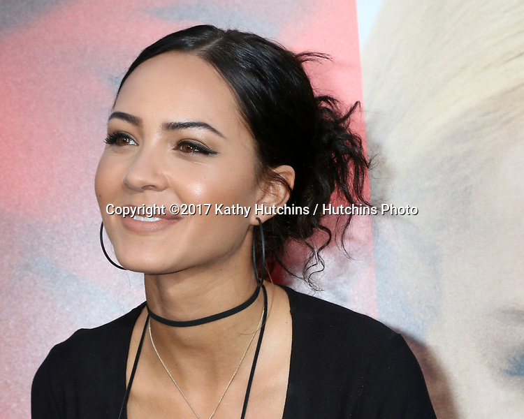 "LOS ANGELES - APR 18:  Tristin Mays at the ""Unforgettable"" Premiere at TCL Chinese Theater IMAX on April 18, 2017 in Los Angeles, CA"