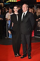 Hans Zimmer and Zoe Zimmer<br /> 'Widows' opening gala screening at BFI London Film Festival 2018 in Leicester Square, London, England on October 10, 2018.<br /> CAP/PL<br /> &copy;Phil Loftus/Capital Pictures