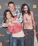 Melissa Rycroft-Strickland and Tye Strickland   at 3rd Annual Los Angeles Haunted Hayride held at Griffith Park, Old Zoo in Los Angeles, California on October 09,2011                                                                               © 2011 Hollywood Press Agency