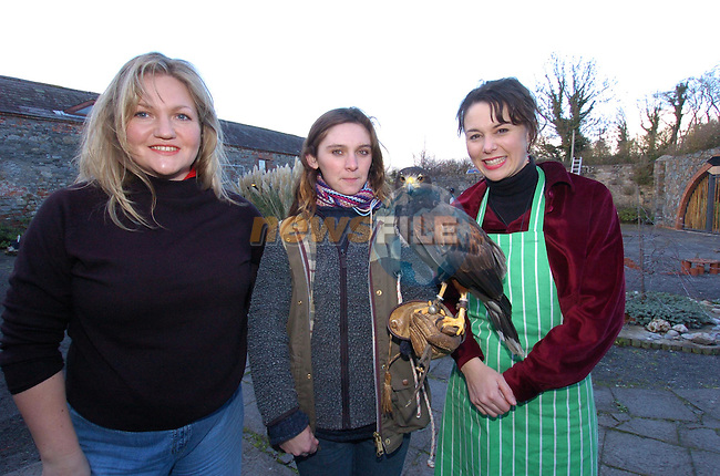 Aine Walsh Drogheda Concentrates, Marie Lennon from Animal Magic and Hidi Biddel at the sonairte christmas fair sponsored by Drogheda Concentrates.Picture Fran Caffrey Newsfile