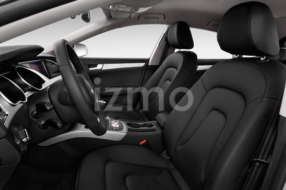 Front seat view of a 2014 Audi A5 Sportback AMBIENTE 5 Door Hatchback 2WD