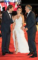 Penelope Cruz, Javier Bardem, Alberto Barbera at the &quot;Loving Pablo&quot; premiere, 74th Venice Film Festival in Italy on 6 September 2017.<br /> <br /> Photo: Kristina Afanasyeva/Featureflash/SilverHub<br /> 0208 004 5359<br /> sales@silverhubmedia.com