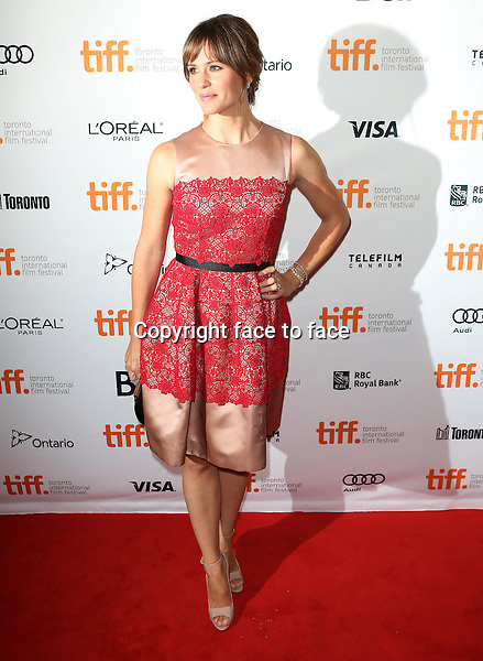 Jennifer Garner attending the 2013 Tiff Film Festival Red Carpet Gala for &quot;Dallas Buyers Club&quot; at The Princess of Wales Theatre on September 7, 2013 in Toronto, Canada.<br /> Credit: McBride/face to face