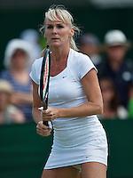 England, London, 28.06.2014. Tennis, Wimbledon, AELTC, Andrea Temesvari (HUN)<br /> Photo: Tennisimages/Henk Koster