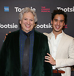 "Harvey Fierstein and Michael Rosen attends the Broadway Opening Night of ""Tootsie"" at The Marquis Theatre on April 22, 2019  in New York City."