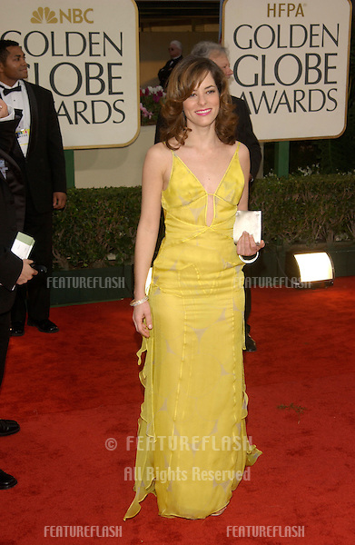 PARKER POSEY at the Golden Globe Awards at the Beverly Hills Hilton Hotel..19JAN2003...© Paul Smith / Featureflash