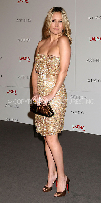 WWW.ACEPIXS.COM . . . . .  ..... . . . . US SALES ONLY . . . . .....November 5 2011, LA....Kate Hudson arriving at the LACMA Art and Film Gala honouring Clint Eastwood and John Baldessari presented by Gucci held at the LACMA Museum on November 5 2011in Los Angeles ....Please byline: FAMOUS-ACE PICTURES... . . . .  ....Ace Pictures, Inc:  ..Tel: (212) 243-8787..e-mail: info@acepixs.com..web: http://www.acepixs.com