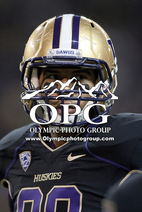 Nov  05, 2011:  Washington's Austin Seferian-Jenkins against Oregon.  Oregon defeated Washington 34-17 at Husky Stadium in Seattle, Washington...