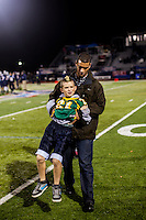 The Justin-Siena Braves defeated the San Marin High Mustangs 27-13 to win the 2012 North Coast Section Division 4 Football Championship at Dodd Stadium in Napa, California on November, 30, 2012.