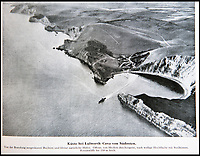 BNPS.co.uk (01202 558833)<br /> Pic: PhilYeomans/BNPS<br /> <br /> Lulworth Cove on the Dorset coast.<br /> <br /> Chilling - Hitlers 'How to' guide to the invasion of Britain.<br /> <br /> A remarkably detailed invasion plan pack of Britain has been unearthed to reveal how our genteel seaside resorts would have been in the front line had Hitler got his way in World War Two.<br /> <br /> The Operation Sea Lion documents, which were issued to German military headquarters' on August 1, 1940, contain numerous maps and photos of every town on the south coast.<br /> <br /> They provide a chilling reminder of how well prepared a German invading force would have been had the Luftwaffe not been rebuffed by The Few in the Battle of Britain.<br /> <br /> There is a large selection of black and white photos of seaside resorts and notable landmarks stretching all the way from Land's End in Cornwall to Broadstairs in Kent.<br /> <br /> The pack also features a map of Hastings, raising the possibility that a second battle could have been staged there, almost 900 years after the invading William The Conqueror triumphed in 1066.