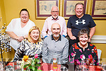 Enjoying the evening in the Brogue Inn on Saturday<br /> Seated l to r: Mary and Peter McEvoy and Aoife Moran.<br /> Back l to r: Margaret Moran, Peadar McKenna and Aidan Moran.