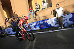 Christopher Hamilton (AUS) Team Sunweb on the San Luca climb during Stage 1 of the 2019 Giro d'Italia, an individual time trial running 8km from Bologna to the Sanctuary of San Luca, Bologna, Italy. 11th May 2019.<br /> Picture: Eoin Clarke | Cyclefile<br /> <br /> All photos usage must carry mandatory copyright credit (© Cyclefile | Eoin Clarke)