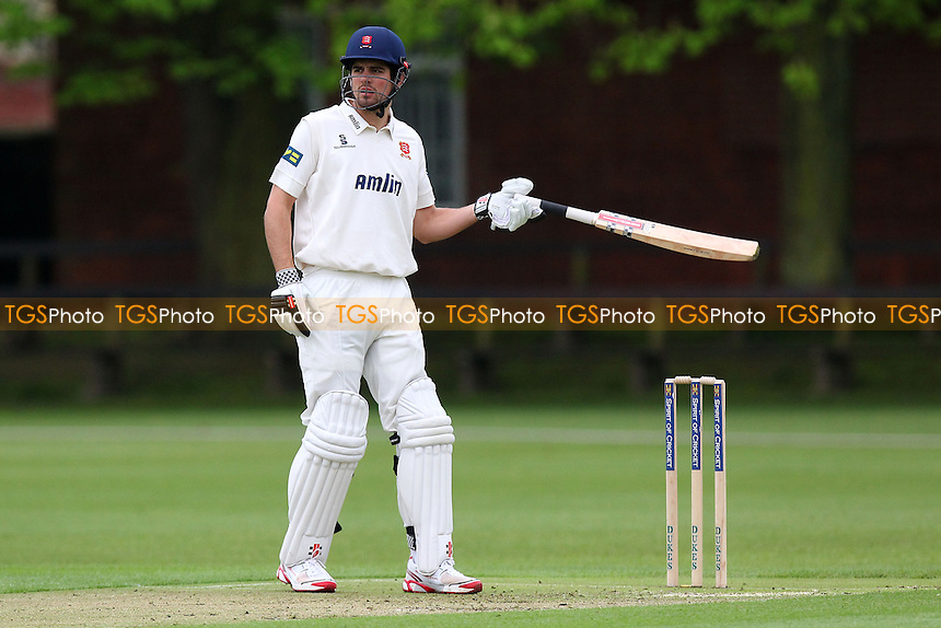 Alastair Cook of Essex in batting action - Cambridge MCCU vs Essex CCC - Pre-Season Friendly Cricket Match at Fenners Ground, Cambridge - 07/04/14 - MANDATORY CREDIT: Gavin Ellis/TGSPHOTO - Self billing applies where appropriate - 0845 094 6026 - contact@tgsphoto.co.uk - NO UNPAID USE