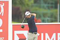 Heath Slocum (USA) on the 12th tee during Round 3 of the CIMB Classic in the Kuala Lumpur Golf & Country Club on Saturday 1st November 2014.<br /> Picture:  Thos Caffrey / www.golffile.ie
