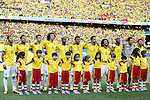 Brazil team group, JULY 4, 2014 - Football / Soccer : FIFA World Cup Brazil 2014 Quarter Final match between Brazil 2-1 Colombia at the Castelao arena in Fortaleza, Brazil. <br /> (Photo by AFLO)