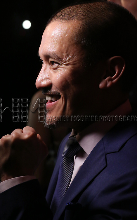 "Jon Jon Briones attends The Opening Night After Party for the New Broadway Production of ""Miss Saigon"" at Tavern on the Green on March 23, 2017 in New York City"
